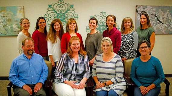 Staff photo of employees, nurses, and Doctors at Great Falls ObGYN Associates